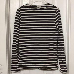 Women's ASOS striped top size medium (ff)